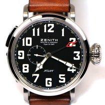 Zenith Pilot Type 20 GMT nuevo Automático Reloj con estuche y documentos originales 03.2430.693/21.C723