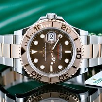 Rolex Yacht-Master 40 Gold/Steel 40mm Brown No numerals United States of America, Michigan, Southfield