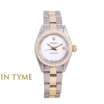 Rolex Oyster Perpetual Gold/Steel 24mm White United States of America, California, Los Angeles