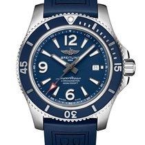 Breitling Superocean Сталь 44mm Синий