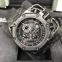 Audemars Piguet Royal Oak Offshore Chronograph Titanium 42mm Black No numerals