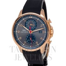 IWC Portuguese Yacht Club Chronograph Rose gold 45mm Black Arabic numerals United States of America, New York, Hartsdale
