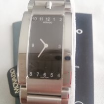 Movado Elliptica Stål 24mm Sort Arabertal