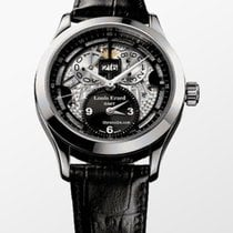 Louis Erard 1931 Steel 40mm Black Arabic numerals