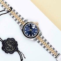 Rolex Lady-Datejust Золото/Cталь 26mm Синий