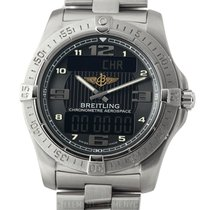 Breitling Aerospace Avantage Titanium 42mm Black Dial