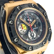 Audemars Piguet Royal Oak Offshore Grand Prix Roségoud 44mm Zwart Arabisch
