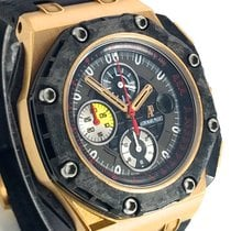愛彼 Royal Oak Offshore Grand Prix 玫瑰金 44mm 黑色 阿拉伯數字