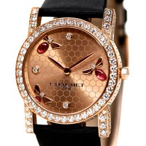 Chaumet Attrape-moi Ref- W16880-23P 18k Red Gold Diamond Set...