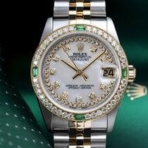 Rolex Lady-Datejust Acero y oro 31mm Madreperla