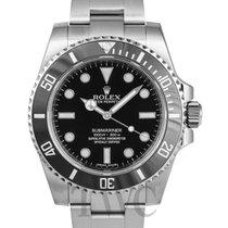 롤렉스 (Rolex) Submariner Black/Steel Ø40mm - 114060