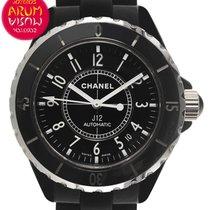 Chanel J12 Céramique 38mm Noir Arabes