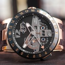 Ulysse Nardin El Toro 18k Rose Gold/Ceramic GMT Perpetual Ltd....