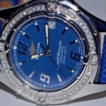 Breitling Colt Oceane Steel 34mm Blue Arabic numerals United States of America, New York, NEW YORK CITY