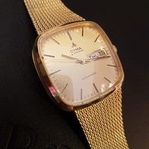 Cyma Yellow gold 32mm Automatic new