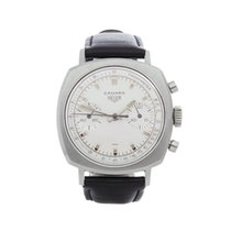 Heuer 36mm Manual winding 1968 pre-owned White