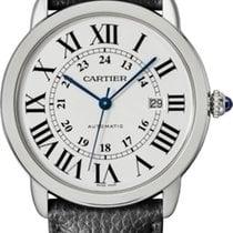 Cartier Ronde Croisière de Cartier Acero 42mm Plata Romanos