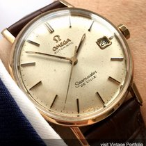 Omega Oro rosado 34mm Automático 1663020 OMEGA VINTAGE AUTOMATIC AUTOMATIK DATE DATUM 14CT RED GOLD PINK usados