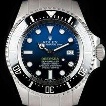 Rolex Sea-Dweller Deepsea Ocel 44mm Modrá