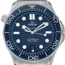 Omega Seamaster Diver 300 M neu Automatik Uhr mit Original-Box und Original-Papieren 210.30.42.20.03.001