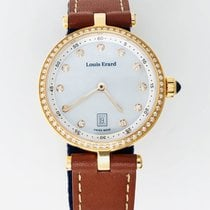 Louis Erard Romance Gold/Steel 30mm Mother of pearl