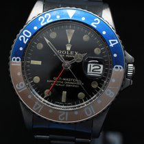 Rolex GMT-Master Steel 40mm Black No numerals United States of America, New York, Armonk