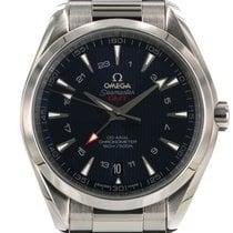 Omega Seamaster Aqua Terra Acier 43mm Bleu Sans chiffres