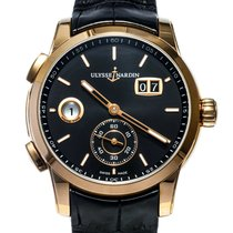 Ulysse Nardin Dual Time Rose gold 42mm Black United States of America, Texas, Houston