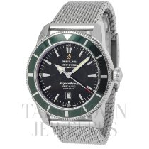 Breitling Superocean Héritage 46 Steel 46mm Black United States of America, New York, Hartsdale