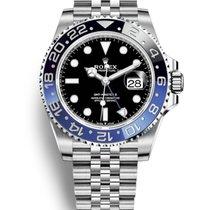 勞力士 GMT-Master II 新的 2019 自動發條 附正版包裝盒和原版文件的手錶 126710BLNR