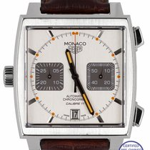 TAG Heuer Monaco Calibre 11 Steel 39mm Silver United States of America, New York, Smithtown