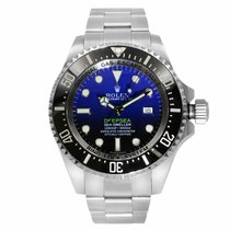 Rolex 116660 Steel 2017 Sea-Dweller Deepsea 44mm pre-owned United States of America, New York, NYC