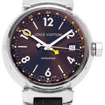 Louis Vuitton Stahl 39.5mm Automatik Q11310 gebraucht