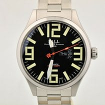 Ball Acero Automático Negro 46mm usados Engineer Master II Aviator