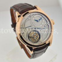 Grönefeld Rose gold Manual winding Parallax Tourbillon in Rose Gold, Limited to 28 new