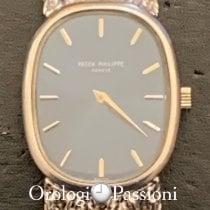 Patek Philippe Golden Ellipse 4201/1 Muy bueno Oro blanco Cuerda manual