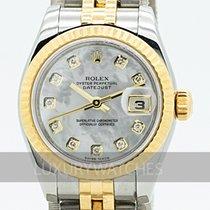 Rolex Lady-Datejust usados 26mm Madreperla Fecha Acero y oro