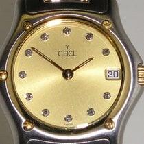 """Ebel """"1911 Lady Diamonds"""" 18K gold/steel"""