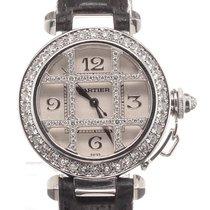 Cartier Pasha Diamonds 18K White Gold