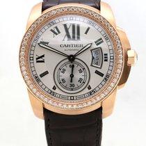 Cartier Calibre de Cartier diamonds b&p pink gold original