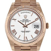Rolex Day-Date 40 Rose gold 40mm White Roman numerals United States of America, New York, Greenvale