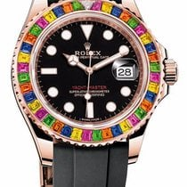 Rolex Yachtmaster Rose Gold Rainbow Fix