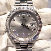 Rolex Day-Date Oyster Perpetual Baguette Diamonds - 18366