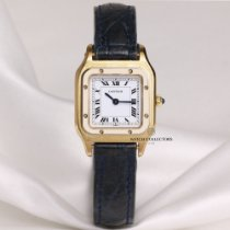 Cartier Santos (submodel) pre-owned 23mm Yellow gold