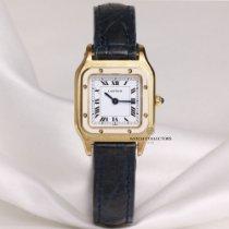 Cartier Santos (submodel) Very good Yellow gold 23mm Manual winding