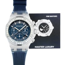 Audemars Piguet Royal Oak Offshore Lady Steel 37mm Blue No numerals