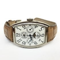 Franck Muller Casablanca pre-owned 38mm White gold