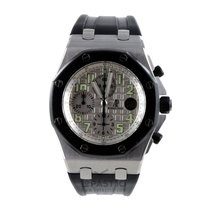 Audemars Piguet Chronograaf 42mm Automatisch 2008 tweedehands Royal Oak Offshore Chronograph Wit