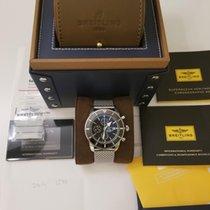 Breitling Superocean Héritage II Chronographe Stahl Schwarz Keine Ziffern Schweiz, zug