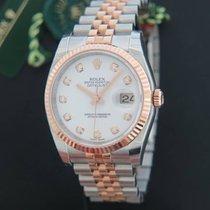 Rolex Datejust (Submodel) novo 36mm Ouro/Aço